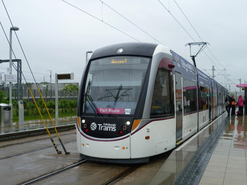 Edinburgh Trams flooding