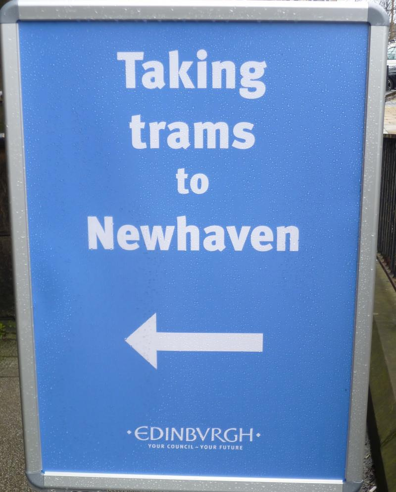 edinburgh trams to newhaven