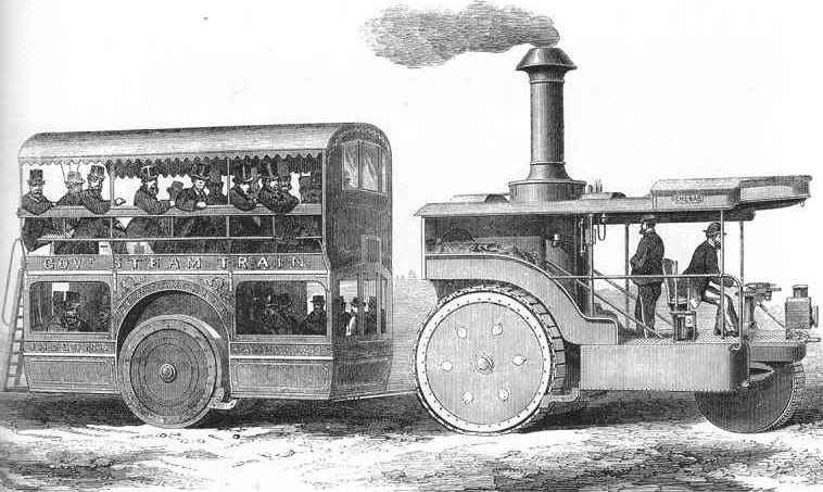 Thomsons Road Steamer