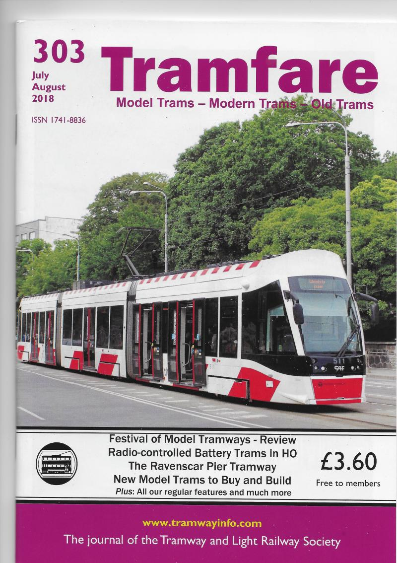 Tramfare Tramway and Light Railway Society TLRS magazine 303