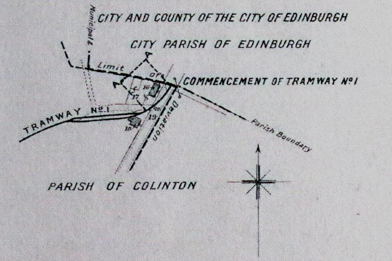 Colinton Tramway Edinburgh Trams