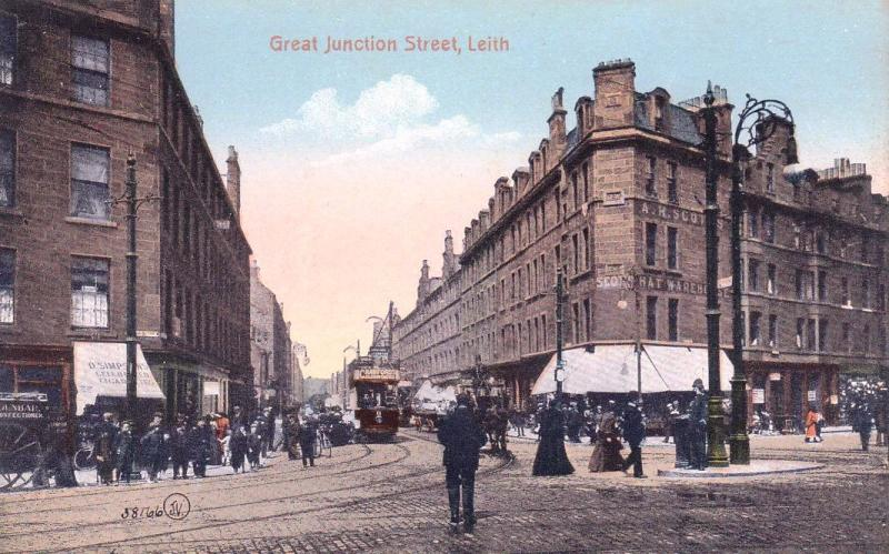 Edinburgh Trams Great Junction Street