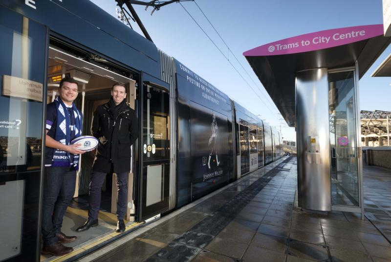 Edinburgh Trams 273 Jointhepact