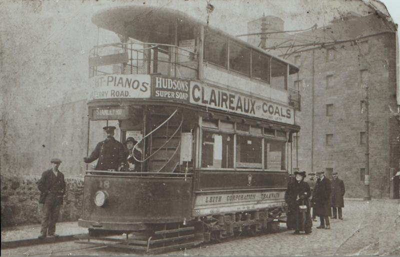 Edinburgh Trams Leith Tramways