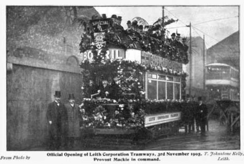 Leith Corporation Tramways