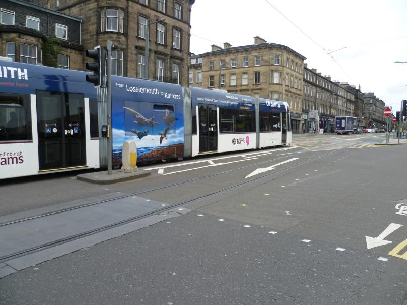 Edinburgh Trams 263