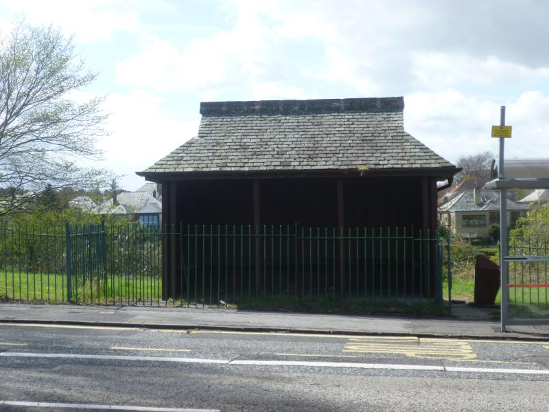 Edinburgh Trams Braids Tram Shelter
